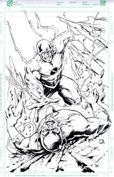 [Artwork] Flash vs Reversed Flash by Don Mark Noceda i had made for myself! Comic Book Publishers, Comic Books, Reverse Flash, New Twitter, Deathstroke, Comics Universe, Community Events, Nightwing