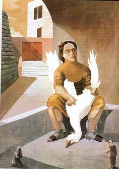 The Infinite Art Tournament, Round Raphael v. Paula Rego Art, Infinite Art, Bird People, Fine Art, Female Art, Female Portrait, Figure Painting, Sculpture, Caricature