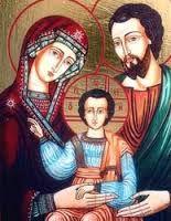 Resultado de imagen para sagrada familia de nazaret en blanco y negro