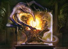 Ravenous Intruder - Aether Revolt MtG Art
