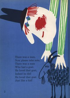 There was a man who had a goat.  By Abner Graboff.