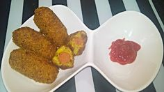 My Passion.....My Taste: Chicken Sausage Kabab   Preparation Time:-15mins ...