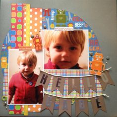 Layout using some scraps