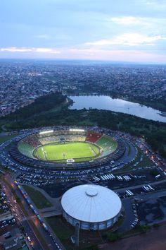 Estádio do Parque do Sabiá em Uberlândia MG