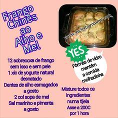Frango chinês saudável!!!  Yucky to Yummy