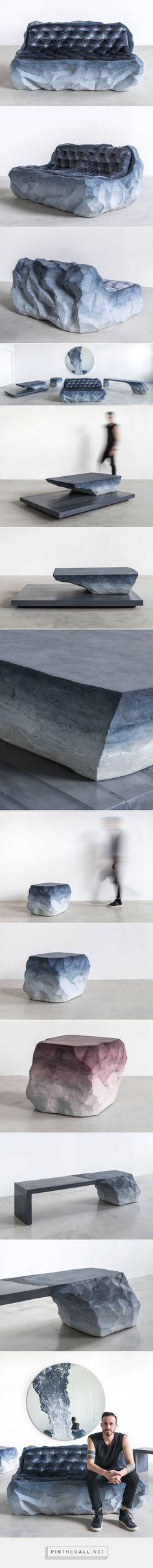 New Sand & Cement Furniture by Fernando Mastrangelo