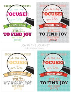 Joy in the Journey free printable at kiki and company #free #generalconference