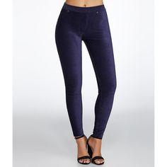 HUE Corduroy Leggings ($44) ❤ liked on Polyvore featuring pants, leggings, hosiery, opaque, women, hue pants, corduroy leggings, corduroy trousers, opaque leggings and hue leggings