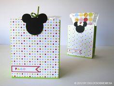 DULCESOBREMESA: Detalles de Mickey y Minnie / Mickey & Minnie Favors