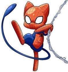 Pokemon & spiderman