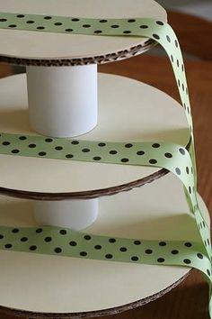 Como Fazer Torre de Cupcake Passo 15