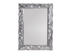 Aquarius Luminous Mirror with Polished Aluminum Frame and Stainless Steel Accents