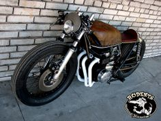 Rodents Rusty Honda http://goodhal.blogspot.in/2013/03/rodents-rusty-honda.html #CafeRacer #Honda #Motorcycle #RodentsWarsaw