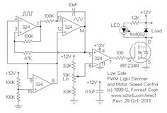 Low Side PWM Schematic