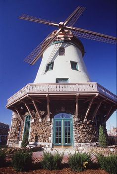While I'm pinning St. Louis roadside architecture - this is the Bevo Mill, a landmark restaurant when I grew up there.  Image is from http://www.toastedrav.com