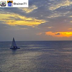 #Repost: 3000 pics on Instagram - my personal favourites: Sailing on the Caribbean Sea