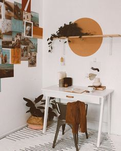 oops, I'm getting the color block itch again👀 HOLD ME BACK (but don't actually). Home Office Decor, Diy Home Decor, Interior Office, Deco Studio, Boho Room, Bohemian House, New Room, Bedroom Decor, House Design