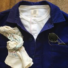 Jakke fra Le mont st michel, med hemen Henley. #lemontstmichel #tibberuphoekeren #workjacket #workwear