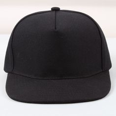 THis would be be good for merchandising because they are cheap and useful Blank Hats, Baseball Hats, Cap, How To Wear, Black, Healthy Lifestyle, Fashion, Baseball Cap, Moda