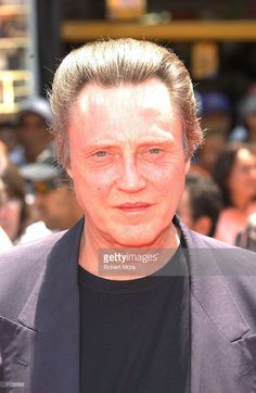 Actor Christopher Walken attends the premiere of Disney's 'The Country Bears' at the El Capitan Theatre on July 21, 2002 in Hollywood, California. The film opens nationwide in theaters on Friday July 26, 2002.