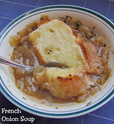 French Onion Soup and Meatballs