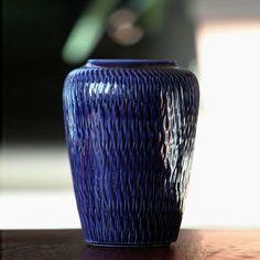 Stoneware vase, Gunnar Nylund, Boveskov, Denmark