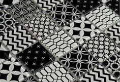 IVG4-151 Clio Encaustic Cement Stylish Glass Mosaic_IMARKSTONE