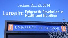 Lunasin: Epigenetic Revolution in Health & Nutrition https://www.youtube.com/watch?v=7WgHjR13ArU During his visit Dr. Galvez had the opportunity to sit down with Dr. Elvira de Mejia, UI Professor and leading researcher in nutritional epigenetics. This video features highlights from their discussion.