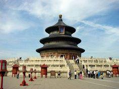 temple of heaven, beijing.