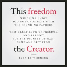 10 Great LDS Quotes about America and Freedom Lds Quotes, Religious Quotes, Spiritual Quotes, Gospel Quotes, Godly Quotes, Scripture Quotes, Quotable Quotes, Wisdom Quotes, Scriptures