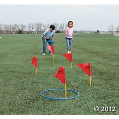 Field Day Games For Kids Discover Jumbo Ring Toss Game Activity Games, Fun Games, Activities For Kids, Olympic Games For Kids, Picnic Activities, Outdoor Toys, Outdoor Games, Fête Jurassic Park, Field Day Games