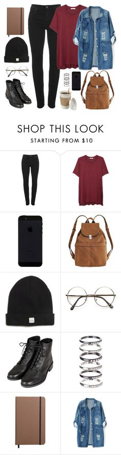 """""""Back to school Infinite inspired // Sunggyu"""" by berrie95 ❤ liked on Polyvore featuring Vivienne Westwood Anglomania, MANGO, BAGGU, Madewell, Topshop, M.N.G, Shinola, Chicnova Fashion, BackToSchool and infinite"""