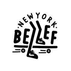 BELIEF NY LOGO #belief