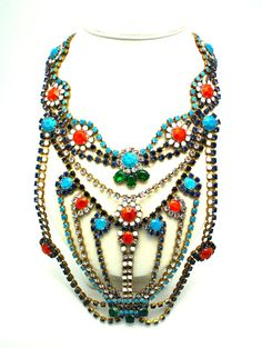 One of a Kind Statement Necklace- Shoshone.