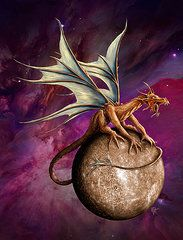 Rob Carlos Featured Images - Mercury Dragon  by Rob Carlos