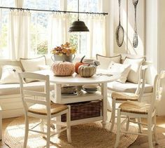6 Fascinating Clever Tips: Small Kitchen Remodel Dark mobile home galley kitchen remodel.Kitchen Remodel Plans Tile kitchen remodel tips fixer upper.Old Kitchen Remodel Stove. Kitchen Nook, Kitchen Dining, Kitchen Decor, Kitchen Seating, Pottery Barn Kitchen, Kitchen Chairs, Kitchen Utensils, Cafe Curtains Kitchen, Kitchen Banquette