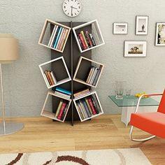 MARCELLA Libreria - Bianco / Sonoma / Nero - Scaffale per... http://www.amazon.it/dp/B01C63YJUU/ref=cm_sw_r_pi_dp_pAGnxb0ZR3772