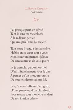 French Poems, French Quotes, Spanish Quotes, Texte En Prose, Paul Verlaine, Mr Wonderful, Famous Books, Sweet Words, Love Poems