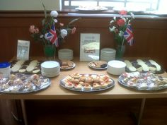 The Tea Room in celebratory mood and raising money for Cancer Research