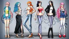 One Piece Girls Jeanist Wallpaper by Kaz-Kirigiri
