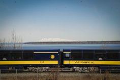 Tren de #Anchorage, #Alaska.