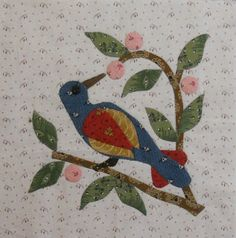 Tree Top Feast Old Voices New Impressions from the book by Jeana Kimball By Karen log cabin quilter
