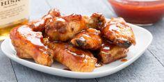 Bourbon BBQ Wings Horizontal