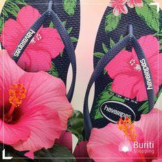 A primavera já começou! Época de plantar os pés nas suas Havaianas. #havaianas #primavera