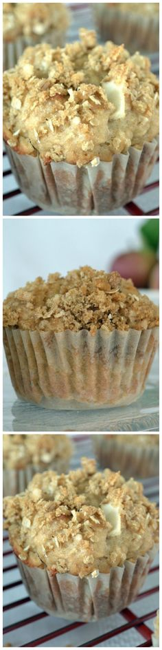 Apple Pie Muffins - Your whole kitchen will smell like apple pie as these apple pie muffins are baking in your oven. Nutritious and easy to make!!