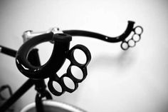 #bike #brassknuckles