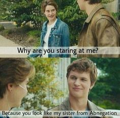 Ansel Elgort fanboys over Shailene Woodley A LOT!