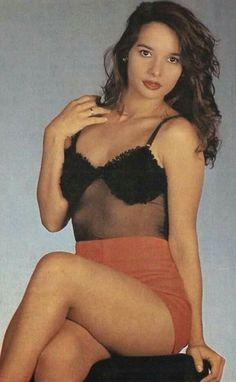Daniella Perez Ensaio para a revista AMIGA TV TUDO 1992