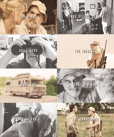 Dale Horvath, The Walking Dead, and my very, very favorite. I would trade every other person in the group for him to have lived.