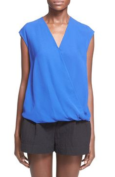3.1 PHILLIP LIM Draped Silk Blouse. #3.1philliplim #cloth #